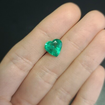 Emerald Heart cut 2.86 ct