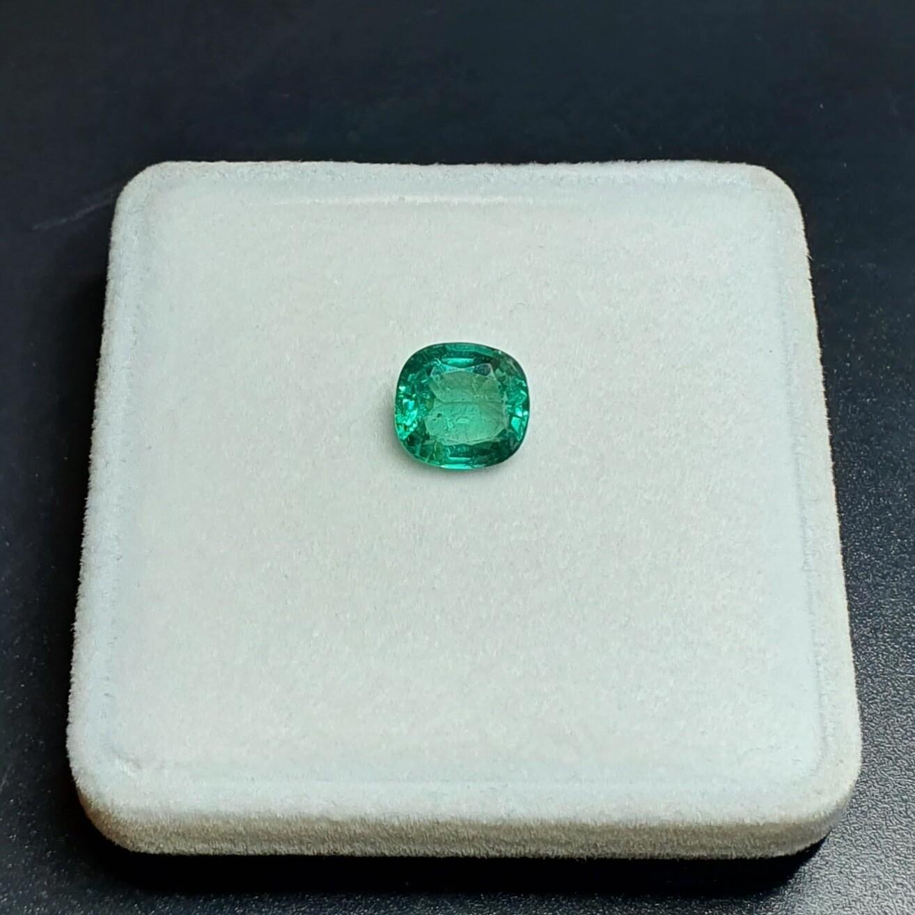 Emerald Cushion cut 2.68 ct