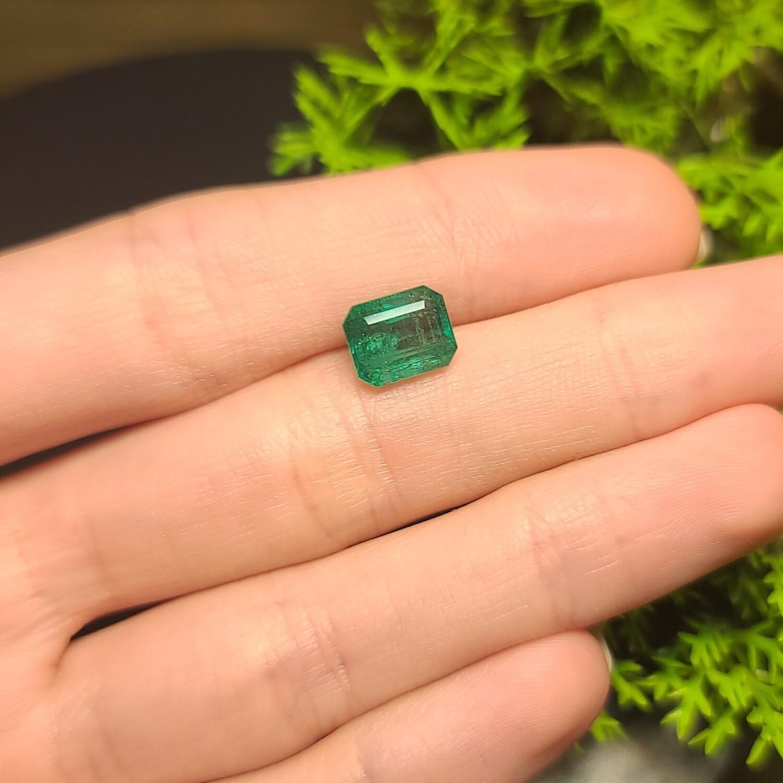 Emerald octagon cut 2.80 ct