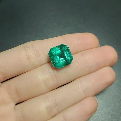 Sq.Emerald cut 10.66 ct