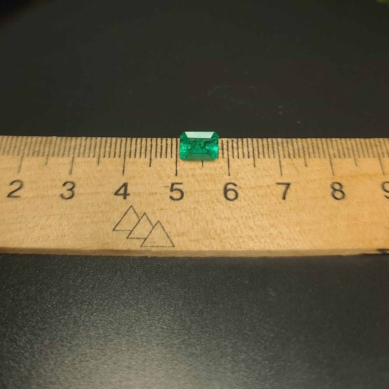 Emerald octagon cut 1.58 ct