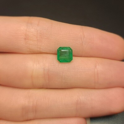 Sq.Emerald cut 1.56 ct
