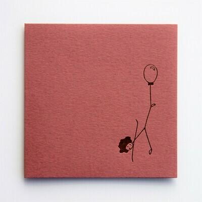 Single Card – Balloon Stick