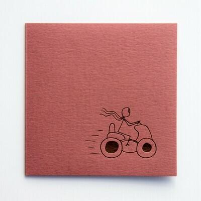 Single Card – Scoot Scoot Stick