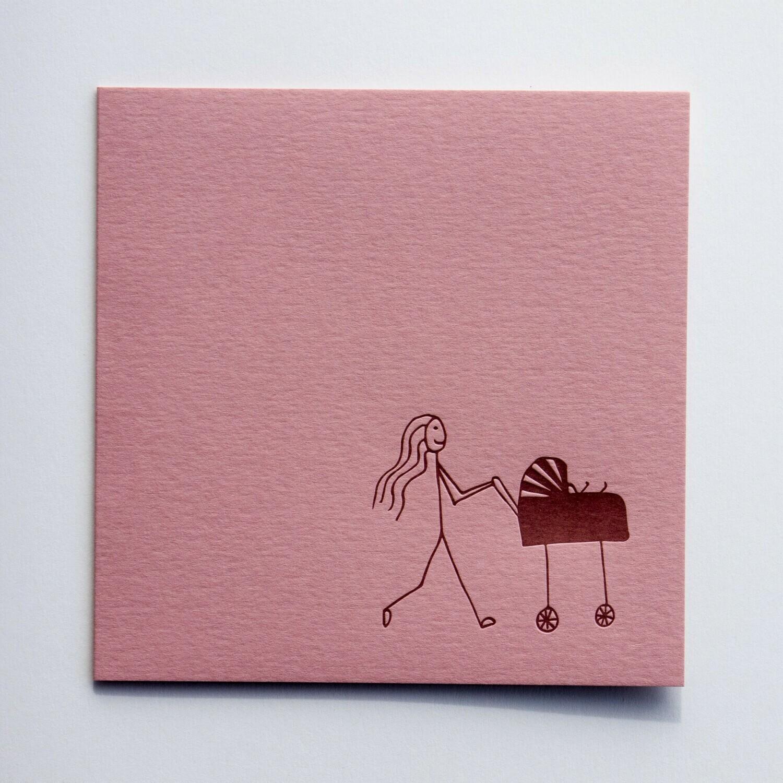 Single Card – Mama Stick