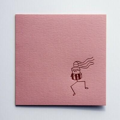Single Card – Sticky Cake