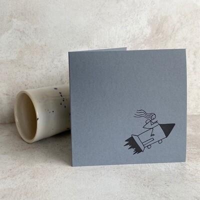 Single Card – Rocket Stick