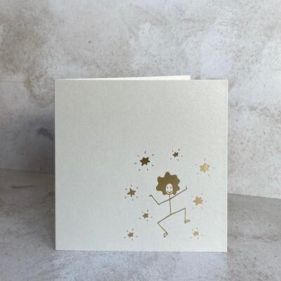 Single Card – Star Stick