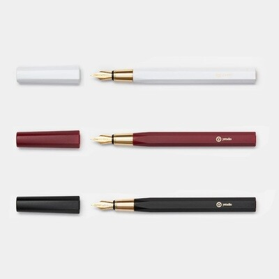 Fountain Pen - In Black, White or Red Resin