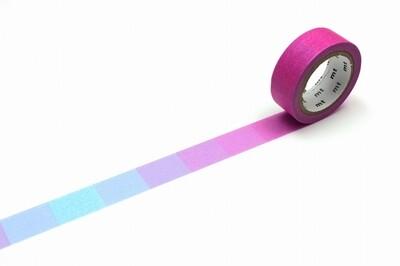 Washi Tape - Gradation Pink x Blue