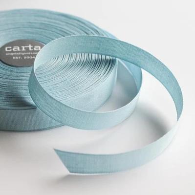 Studio Carta Ribbon - Sky Tight Weave Cotton - 1 Meter