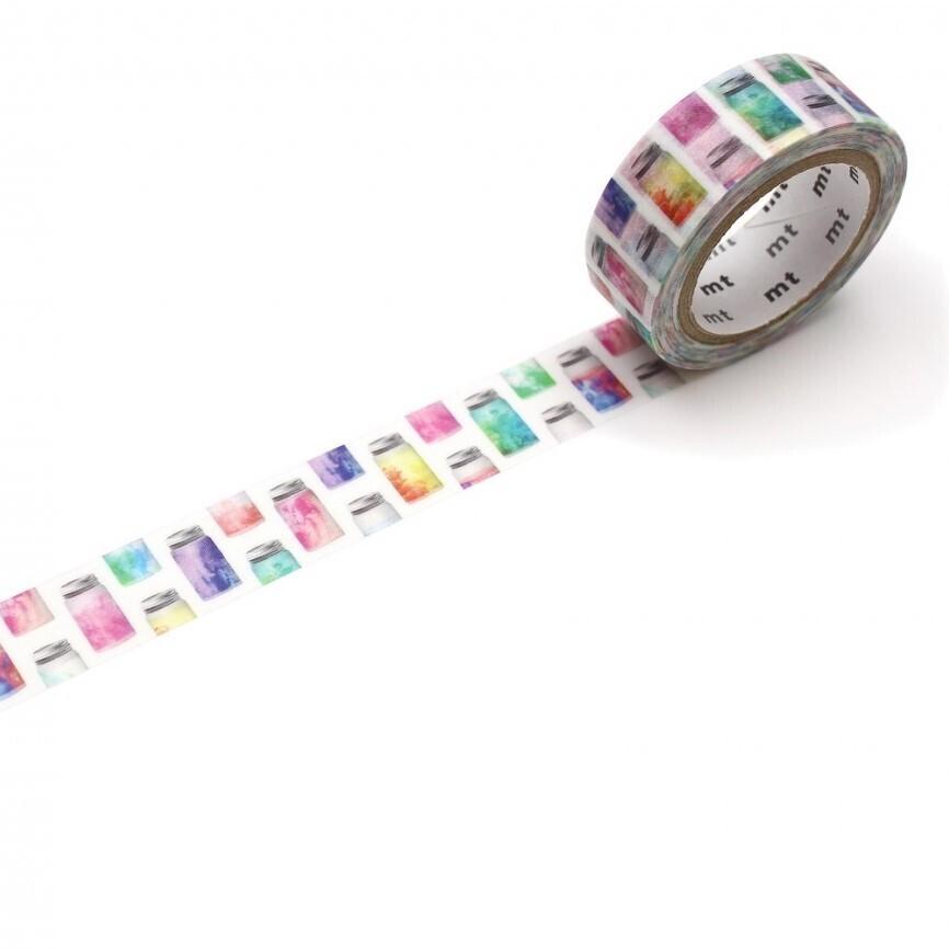 Washi Tape - Colourful Jar