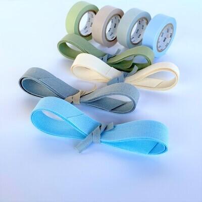 Tape & Ribbon Set - Blues & Neutrals