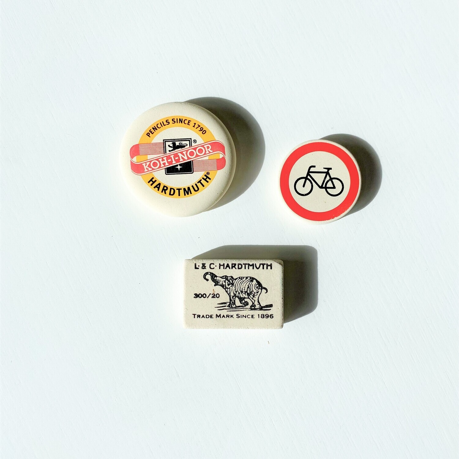 Koh-I-Nor Erasers - Choose from 3 Designs