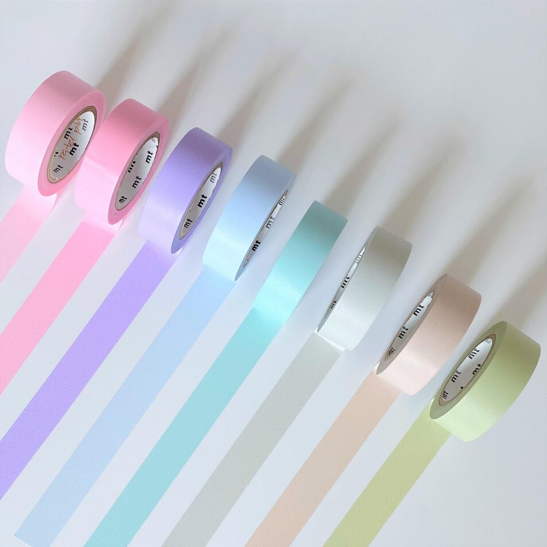 Washi Tape - Pastel Shades