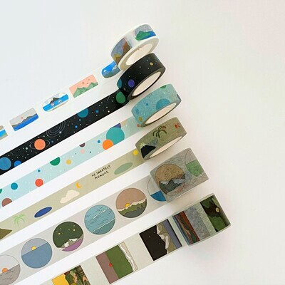 Washi Tape - Nature Themes