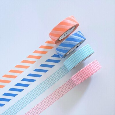 Washi Tape - Stripes & Grids