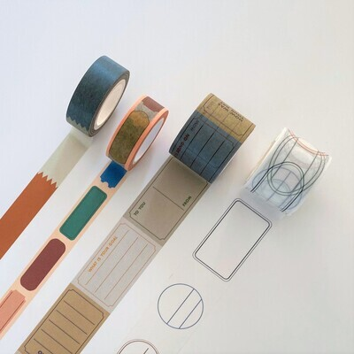 Washi Tape - Labeling Tapes