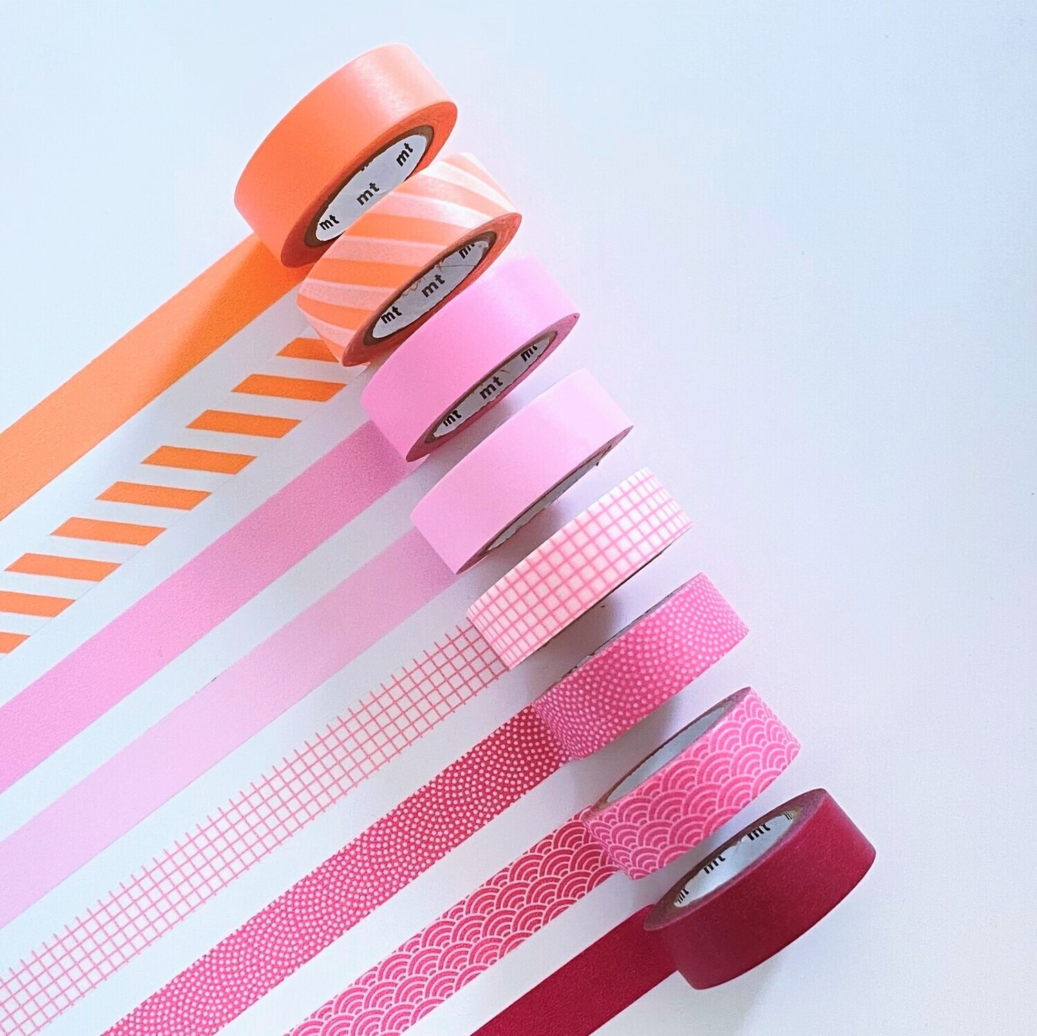 Washi Tape - All The Pinks