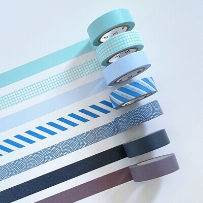 Washi Tape - All The Blues
