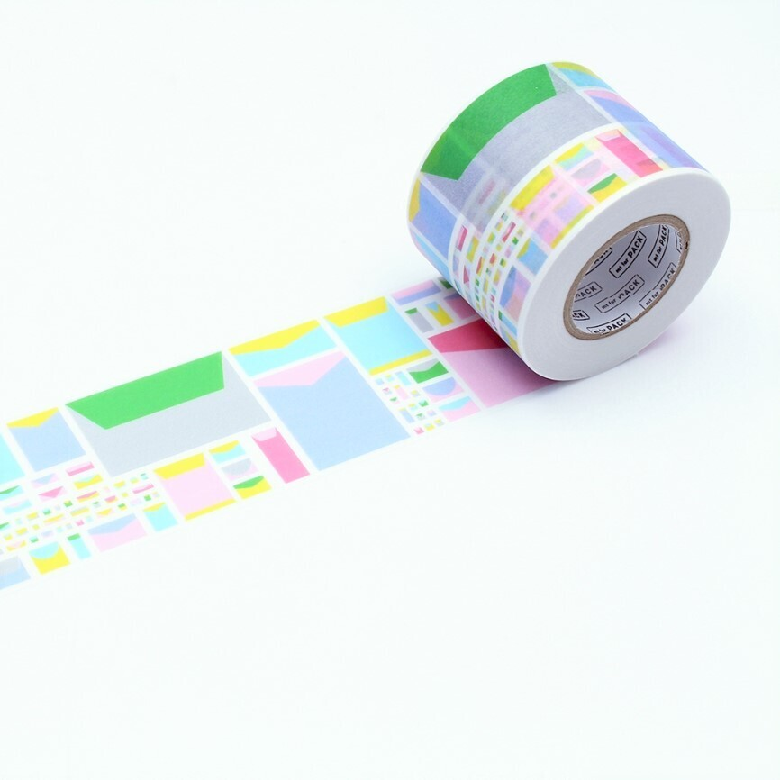 Washi Tape - Pack Letters