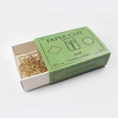 Brass Paper Clips - Owl