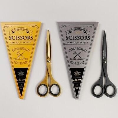 Scissors - Black or Gold