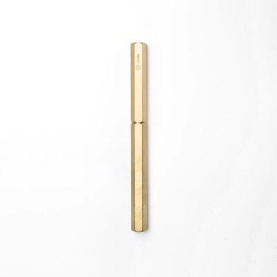 Classic Rolerball Pen - Brass