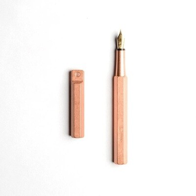 Portable Fountain Pen - Copper