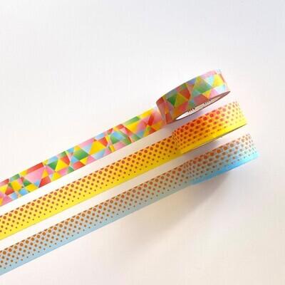 Washi Tape - Bright Patterns