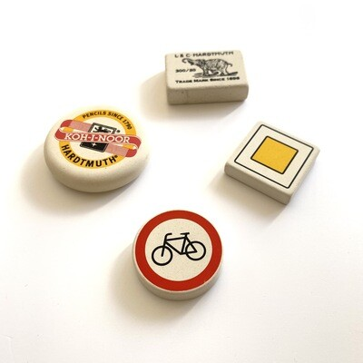 Koh-I-Nor Erasers - Choose from 4 Designs