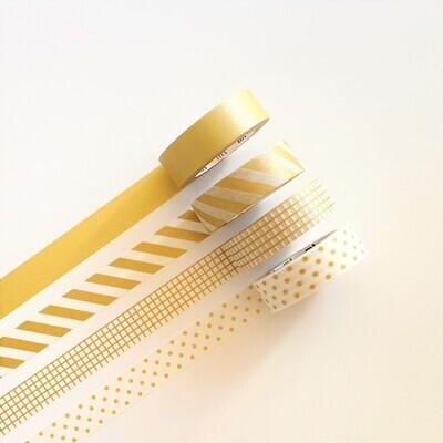 Washi Tape - Golds