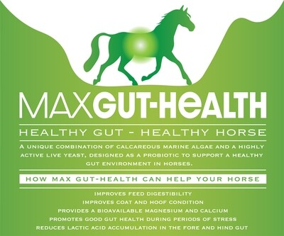 Max Gut-Health 20KG  for large yards  save approx 35% includes shipping  shipping (5 x 4kg tubs) UK & Europe only