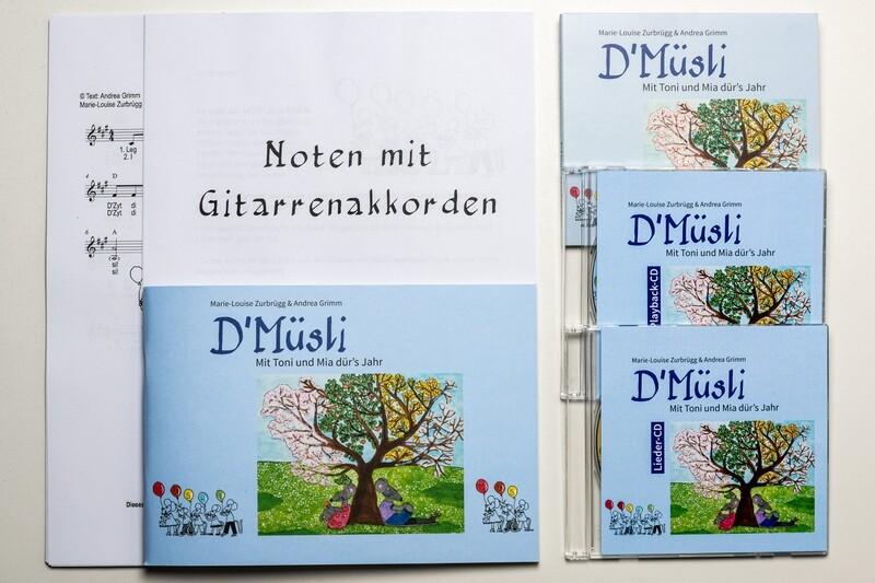 Paketangebot PLUS D'Müsli - Mit Toni und Mia dür's Jahr