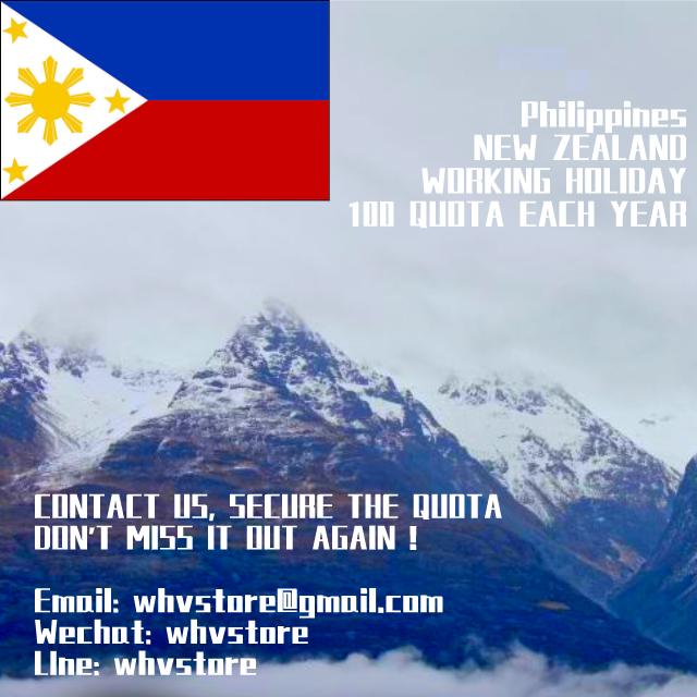 Philippine Working Holiday Visa
