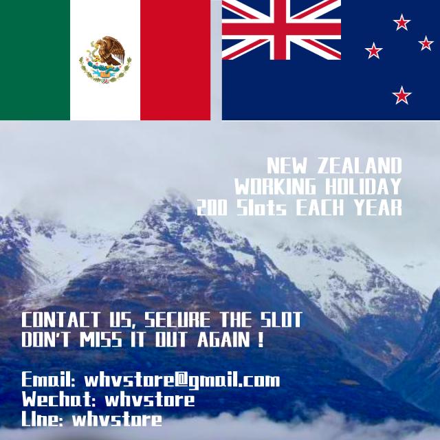 Mexico Working Holiday Visa