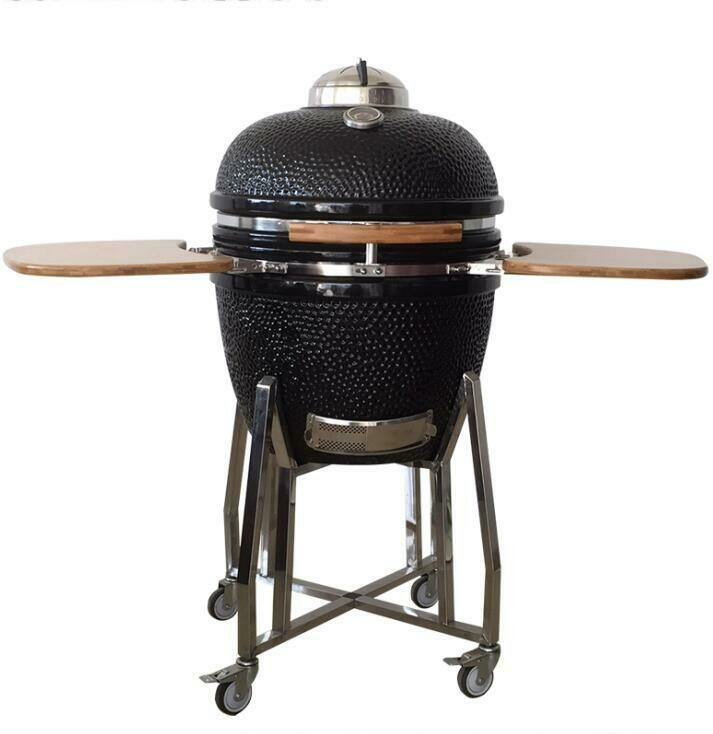 The Cheeky Cook Kamado grills, make you the Barbecue King