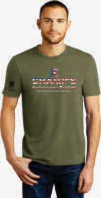 Men's USA Tri Blend T-Shirt