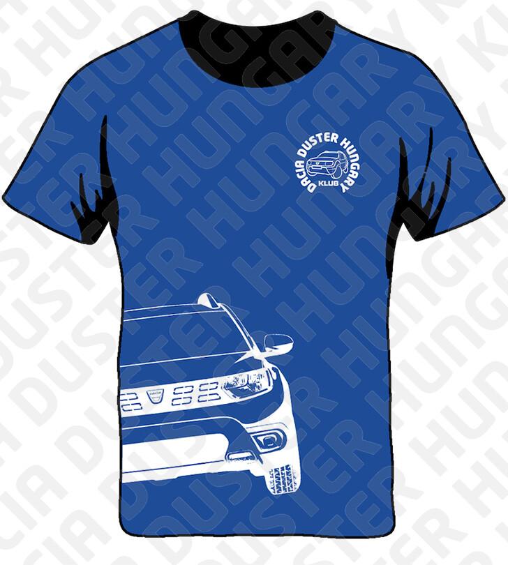 DDH Dacia Duster Hungary Klub póló Royal