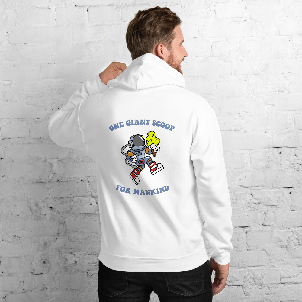 One Giant Scoop For Mankind - Mens Hoodie
