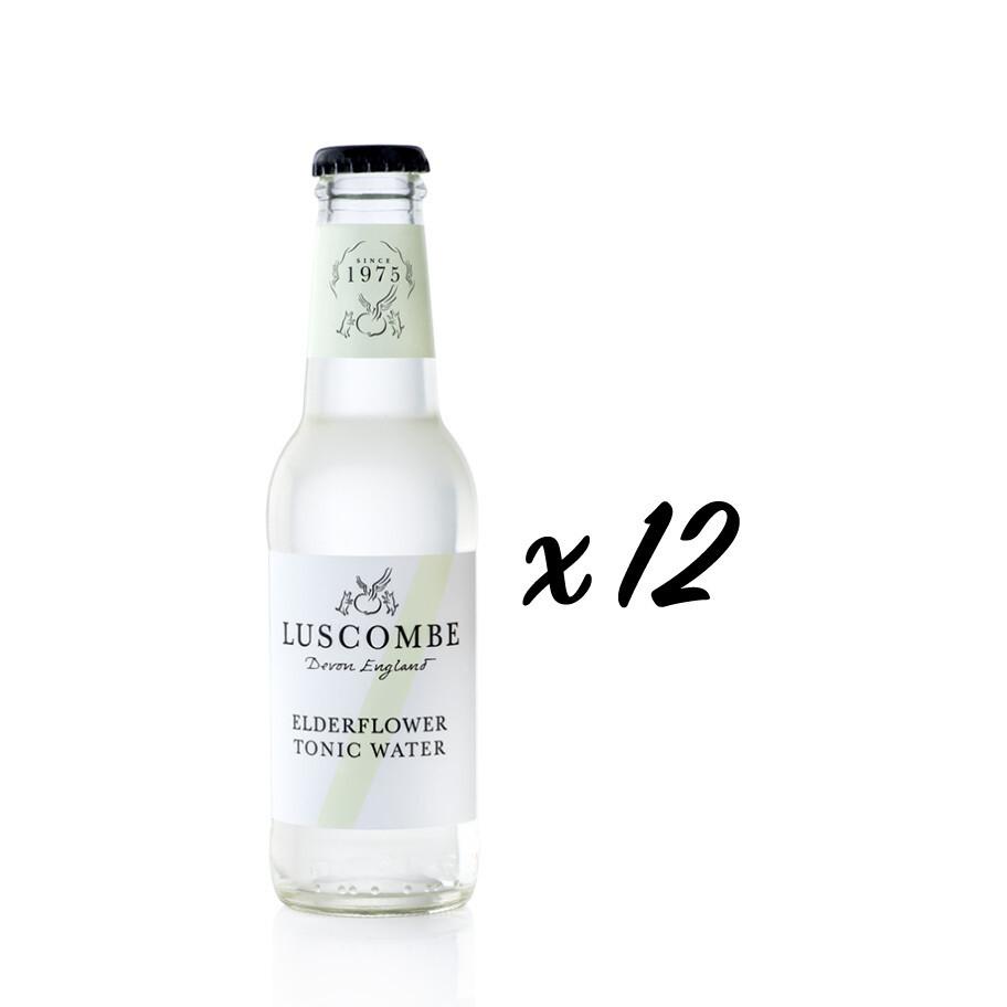 Elderflower Tonic Water (Box of 12 x 200ml)