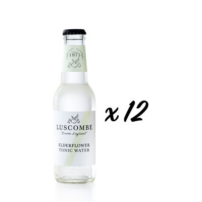 Elderflower Tonic Water (Box of 12 x 200ml)
