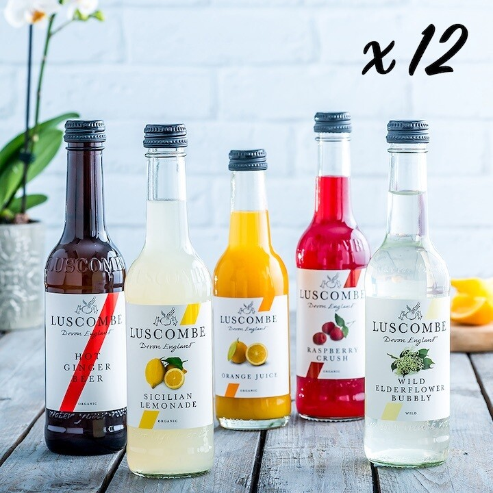 Taster Pack – a variety selection of 12 of Luscombe's best