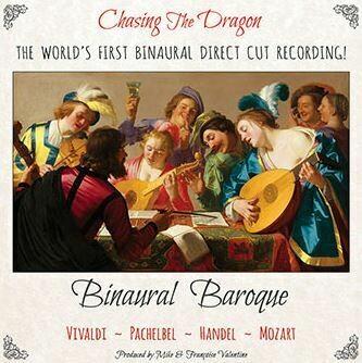 BINAURAL BAROQUE ~ Vivaldi, Pachelbel, Handel, Mozart
