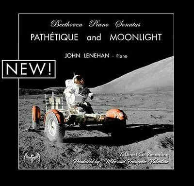 BEETHOVEN PIANO SONATAS ~ Pathetique & Moonlight