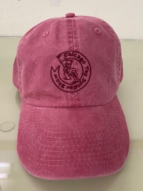 CTSS BASEBALL CAP - RASPBERRY
