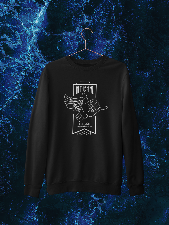 In The A.M. Unisex Crewneck Sweatshirt
