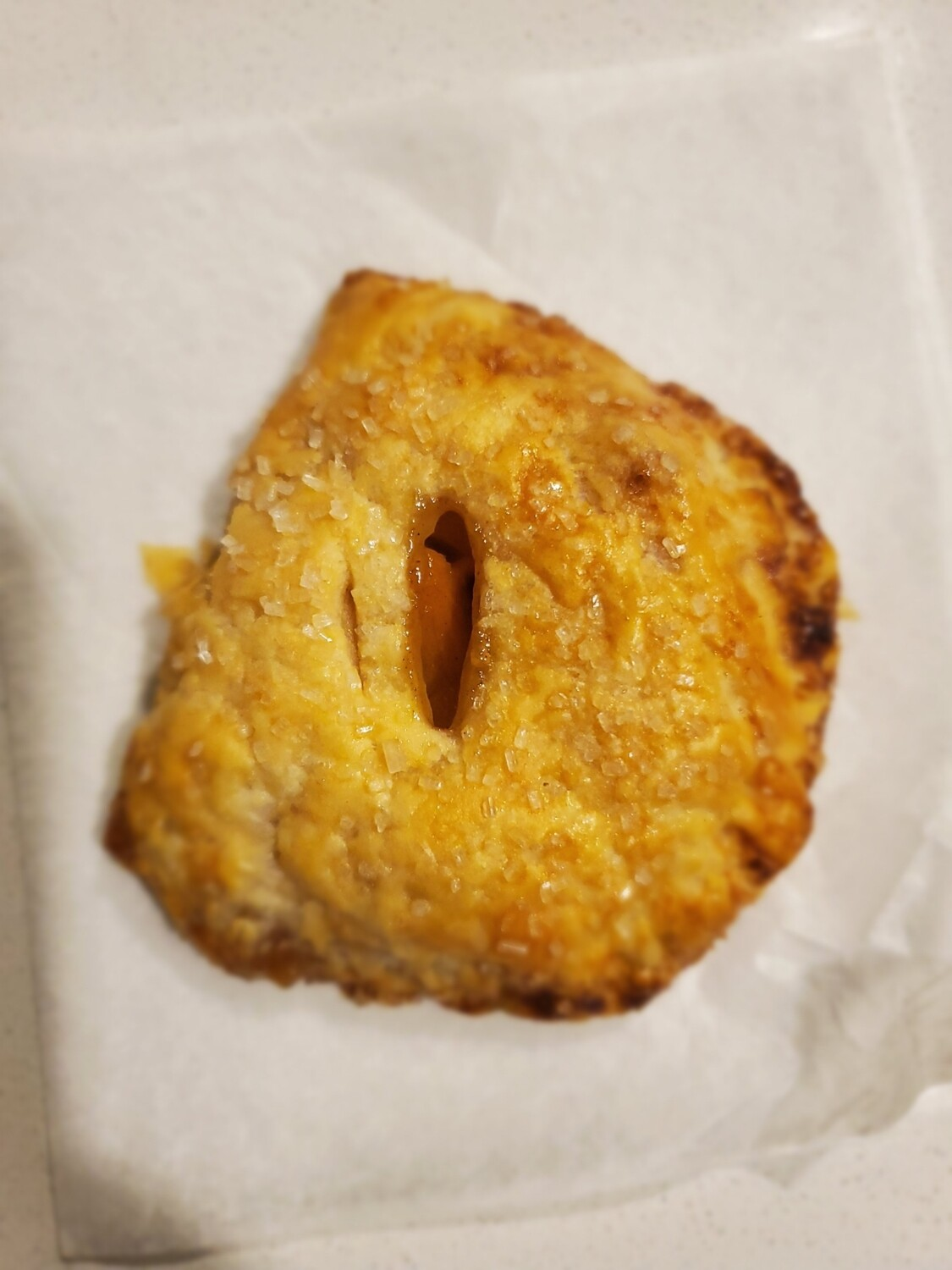 2 Gingered Pear Turnovers