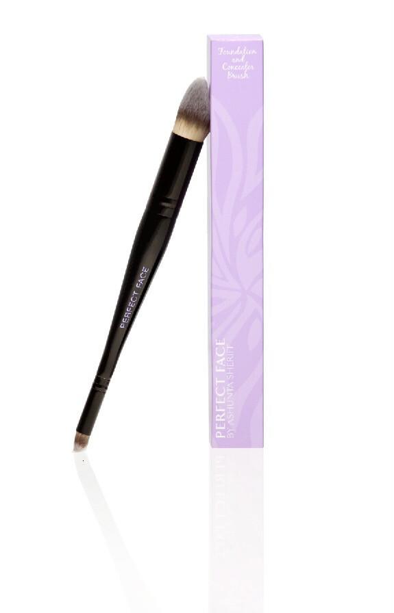 Vegan Dual End Foundation & Concealer Brush