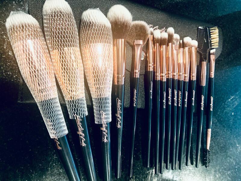 ASB Rose gold Vegan Brush Set